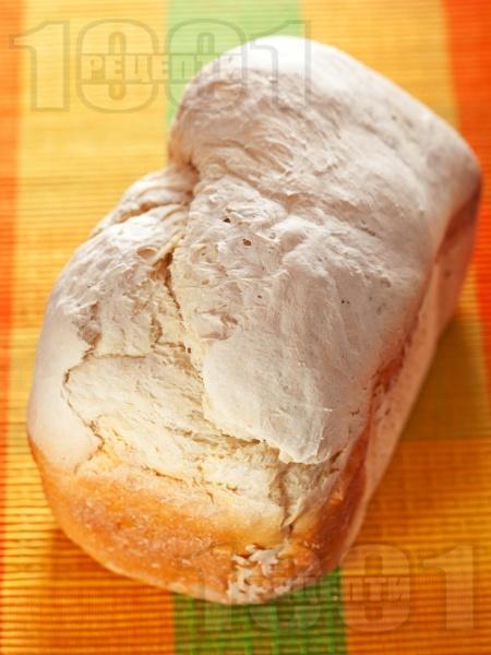 Хляб по стара рецепта в машината за хляб (домашна хлебопекарна) - снимка на рецептата